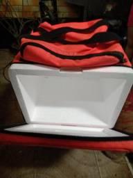 Caixa de isopor 45 litros (ideal para bag)
