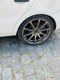Troco roda 18 por 17