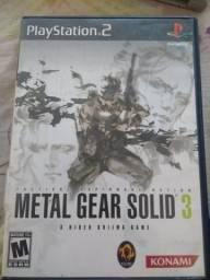 Metal Gear Solid 3 PS2 original comprar usado  Limeira