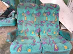 Poltronas pra ônibus, ou vans