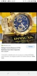Relogio invicta reserve top preço bom 1500 avista