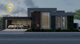 Casa de Luxo Linear com 4 dormitórios à venda, 420 m² por R$ 3.200.000 - Boulevard Lagoa -