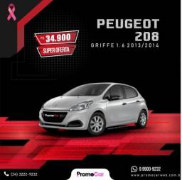 Peugeot 208 Griffe 1.6 Prata