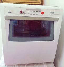 Máquina de lavar louça Brastemp (8 funções)