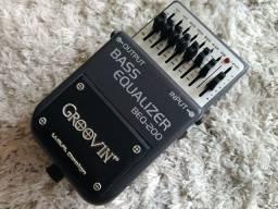 Pedal p baixo equalizer bass equalizador rexsom ac troca