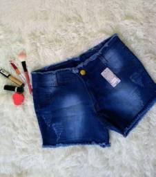 Shorts Jeans com lycra