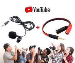 Kit Youtuber Proficional - Lives, Streamings, podcast, vídeo aulas Com a qualidade de Som