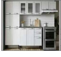 Cozinha/sala/quarto