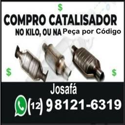 Compra de sucata de catalisador automotivo 2 kg = 400 reais na peça ou na cerâmica