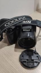 Maquina Fotográfica Semi-Profissional-Nikon Colpix L105
