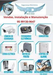 Segurança eletrônica residêncial
