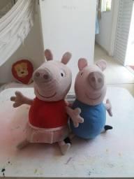 Peppa e Jorge pelucia