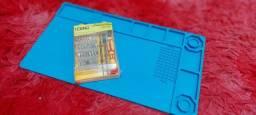 Kit Tapete Manta Anti Estática e estojo chaves precisão cel not tablet