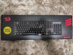 Teclado Gamer Redragon Mitra Mecânico Led/Switch Red