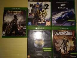 Jogos Xbox One/Halo,Dragon Ball,Forza,Dead Rising