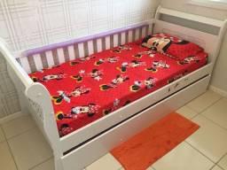 Bicama infantil + 1 colchão (pouco uso)