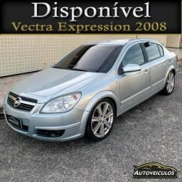 Chevrolet Vectra Expression 2008 - Apenas 72.000km - 2 Dono - Desafio mais novo!