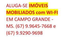 Alugo imóveis mobiliados por temporada em Campo Grande - MS