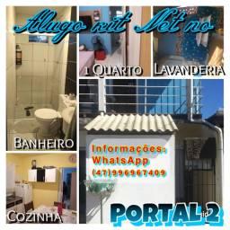 Alugo kit net com um quarto ,cozinha ,lavanderia ,banheiro ( Portal 2) leia a descrição?