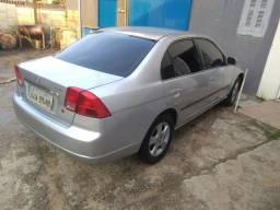 Civic 2001 com gnv. valor 14.500