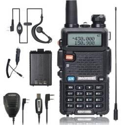 Radio Ht Uv-5r Dual Band(uhf+vhf) Baofeng + Fone