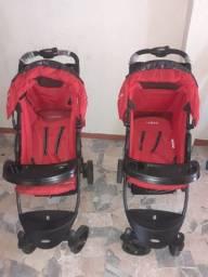 2 Carrinhos de bebês (podendo gêmeos)
