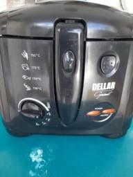 Fritadeira elétrica Dellar gourmet