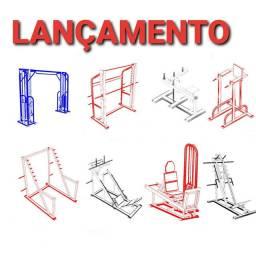 95 Projetos para construção de máquinas academia