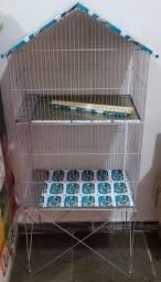 Viveiro Galvanizado para Pássaros - Produtos Novos