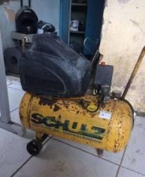 Compressor Schulz motor 2 HP.