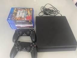PlayStation 4 / 1 tb / 02 controles