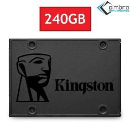 SSD 240Gb - Para Notebook e PC Desktop - A400 Kingston - Loja Coimbra Computadores