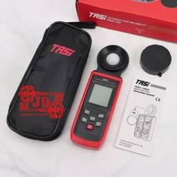 Medidor de luz - luxímetro, teste luz ambiente, fotômetro 200.000 lux