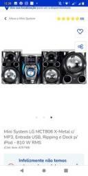 Micro systen LG 810 wats
