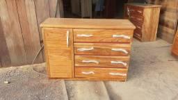 370 cômoda top de madeira atrás, frete grátis