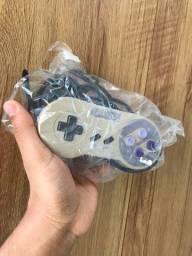 Controle snes original 100% super Nintendo branco