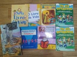 KIT LIVROS EDUCAÇÃO INFANTIL / MINISTÉRIO INFANTIL