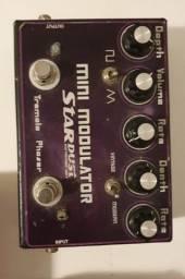 Pedal Mini Modulator - Stardust pedals - Phaser e Tremolo