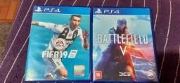 Vendo dois jogos pra ps4