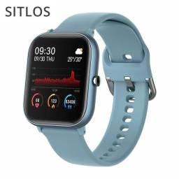 Smartwatch Colmi P8 SE preto novo na caixa