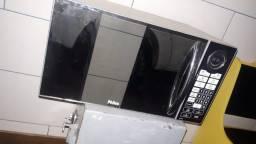 Microondas 30 litros marca philco modelo pem31 espelhado