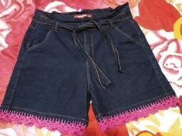 Bermuda jeans Plus Size nova! TAM 52
