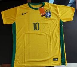 Camiseta seleção Brasileira Todos Tam.