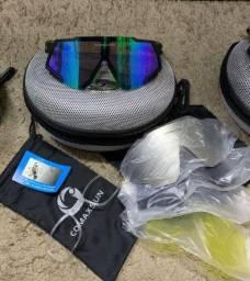 Óculos para ciclismo com suporte pra grau (Opcional)