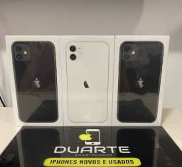 iPhone 11 Branco/Preto 64GB/128GB 12 Meses de Garantia (Pronta Entrega)