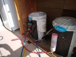 Estalação conserto de ar condicionado