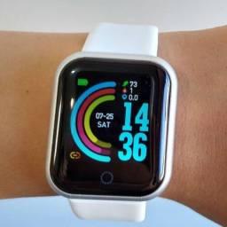 Relógio Inteligente Smartwatch Y68/d20 Resistente a água Envio Imediato.