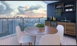 FG* Apto 4Suítes 165m²-3vagas-arborizado e cheio de vida-alto padrão-Casa Forte-Recife.