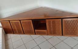 Rack de quina em madeira rústica