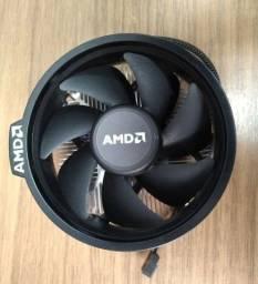 Cooler Amd Wraith Stealth Original - Am4 - 65w S/led Novo C/caixa